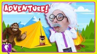 BIGFOOT Mystery Creature Adventure #4 with HobbyHarry by HobbyKidsTV