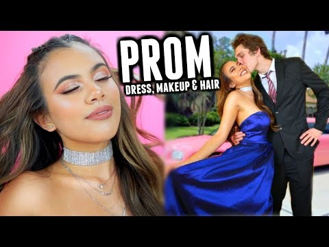 PROM 2018: Dress, Makeup & Hair ♡ (GRWM)