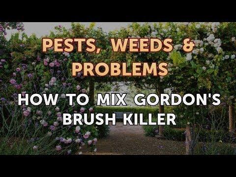 How to Mix Gordon's Brush Killer