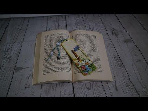 #13 / DECOUPAGE BOOKMARK / DIY / DECOUPAGE / ZAKŁADKI DO KSIĄŻEK / SUOMI / TUTORIAL