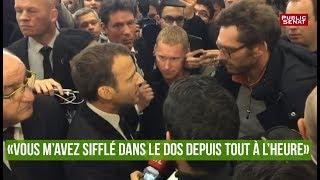 Macron : « Vous m'avez sifflé dans le dos depuis tout à l
