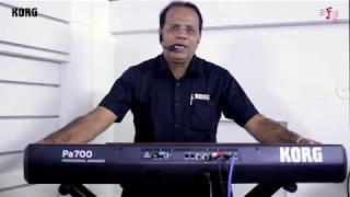Korg - PA 700 - Indian Sounds - Vidozee | Download And Watch