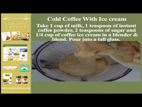Instant Cold Coffee With Ice cream