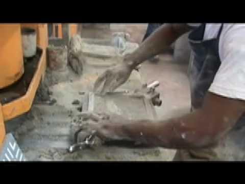 Cement Tile - Making Patterned Tile