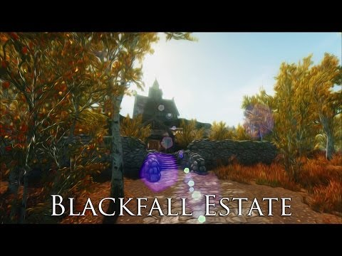 TES V - Skyrim Mods: Blackfall Estate - A Home for Thieves