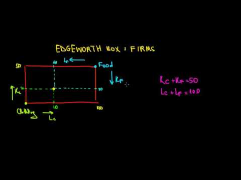 MICROECONOMICS I General Equilibrium I Edgeworth Box I Firms