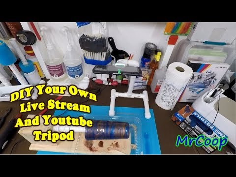DIY Live Stream And YouTube Tripod