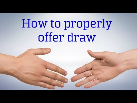 How To Properly Offer (And Decline) A Draw | Chess Tips & Tricks