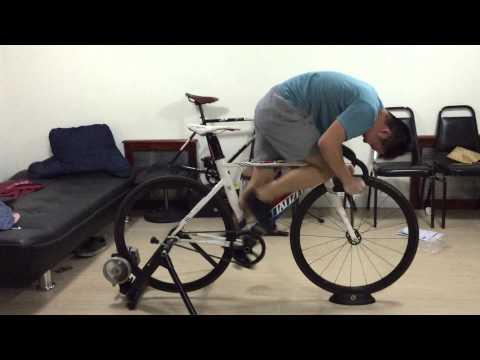 track bike sprint. ratio 48:15