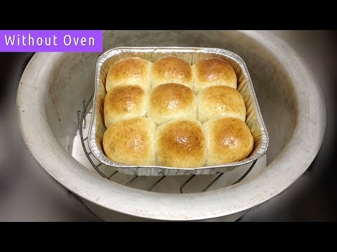 Dinner Rolls Recipe - Dinner Rolls Without Oven - Baking in Vessel