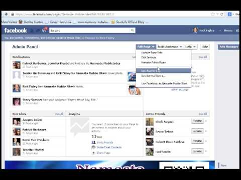 Changing Facebook Fanpage Name and URL (Web Address)