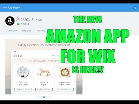 NEW WIX AMAZON AFFILIATES APP! How to build an amazon associate / affiliate website