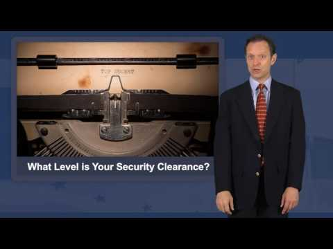 Security Clearance Levels