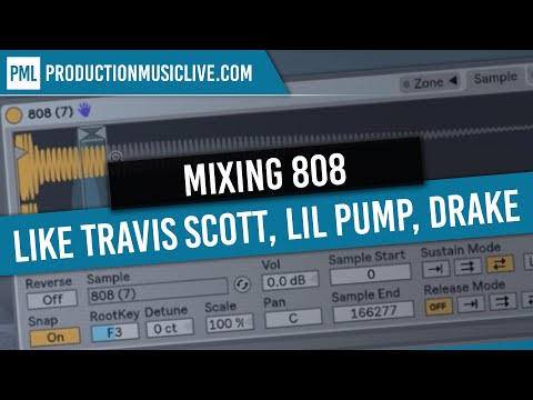 How To Mix 808 Kick and Bass (Like Drake, Lil Pump, Travis Scott) - Free Ableton Project