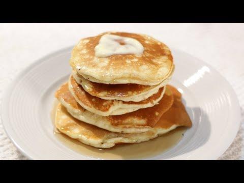 How to Make Pancakes - Thick Fluffy Pancake Recipe