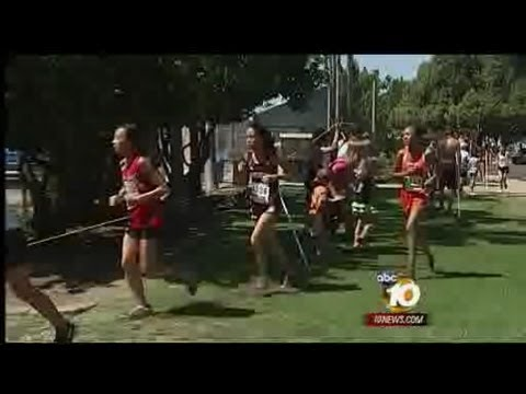 Runners suffer heat exhaustion at track event