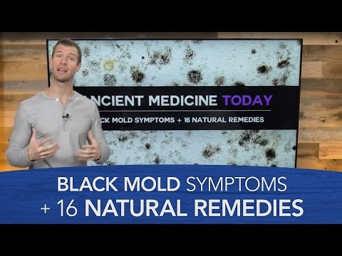 Black Mold Symptoms & 16 Natural Remedies