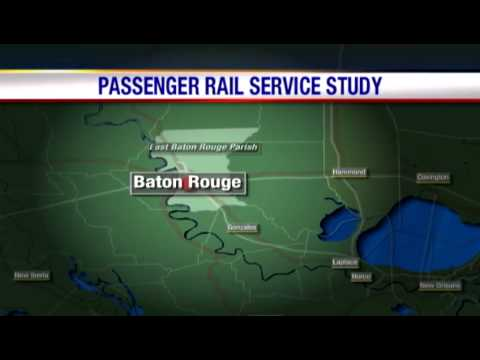 Studies look into passenger rail service from New Orleans to Baton Rouge