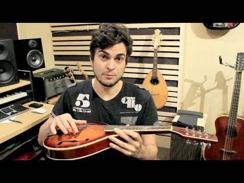 Mandolin Tuning - How to setup the bridge & intonation