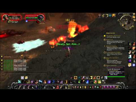 Let's Play World Of Warcraft Part34 Searing Gorge Why you kill?