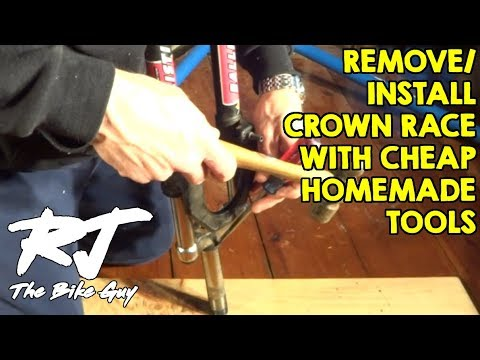 How To Remove/Install A Crown Race With Cheap/Homemade Tools