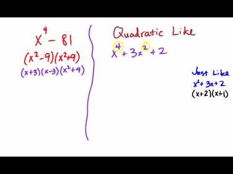 Factoring Quartic Polynomials