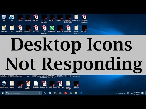 Unable to click on desktop icons in Windows 10 (Desktop items not opening) 3 Solutions