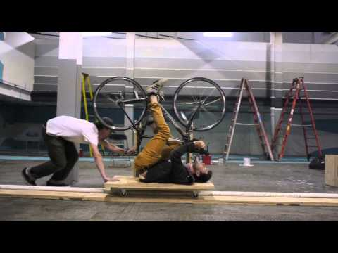 OK Go - The Writing's On the Wall BTS: Bike Test