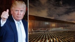 Trump team insists border wall plan has not changed
