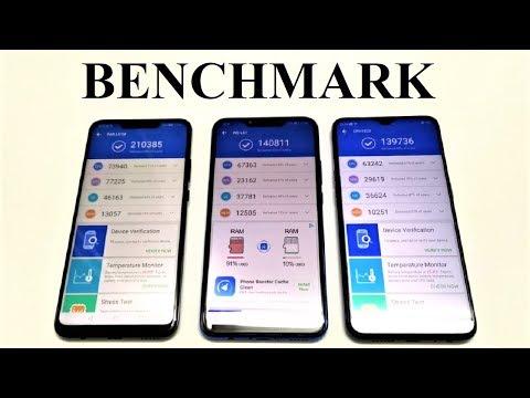OPPO F9 vs Huawei Nova 3 vs Nova 3i - BENCHMARK COMPARISON