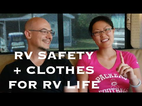 RV Safety, Clothes for RV Life, Buying in Bulk at Costco