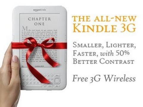 Geek Bytes - Amazon Kindle 3 (3G + Wi-Fi) Review