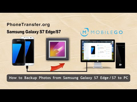 How to Backup Photos from Samsung Galaxy S7 Edge to Computer, Galaxy S7 Pictures to PC