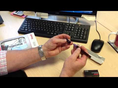 Rotring Rapidograph Pen- Changing the Nib and Ink Cartridge