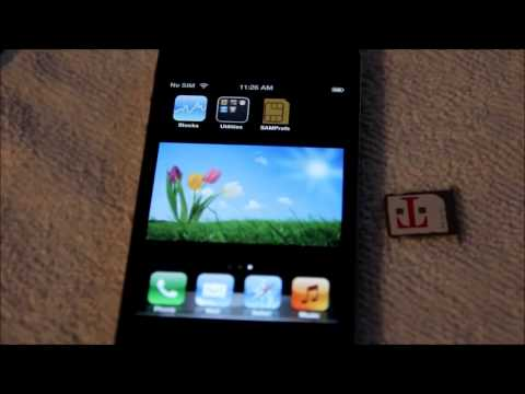 Unlock ANY JAILBREAK iphone 4s, 4g, 3gs, 3g on any firmware with SAM - Easy Unlocking!