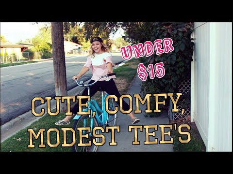 Cute, Comfy, Modest Tee's ( under $15!!)