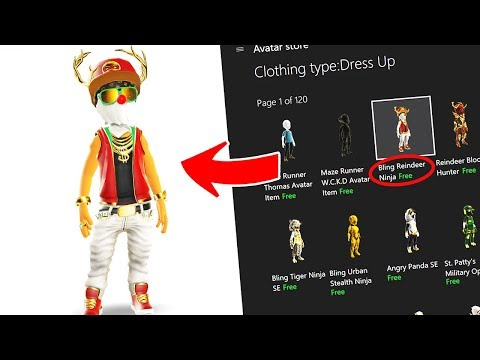 ★ HOW TO GET ANY XBOX AVATAR ITEM FOR FREE 2018!! *EASY TUTORIAL* (XBOX ONE)★