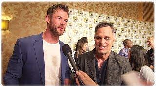 Thor Ragnarok Chris Hemsworth & Mark Ruffalo Interview at Comic Con