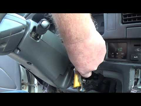 Changing 85-95 Toyota Pickup ignition cylinder