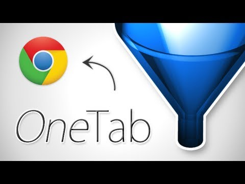Quick Tips - Declutter your browser with OneTab for Chrome