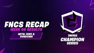 Fortnite Champion Series: Week 5 Recap