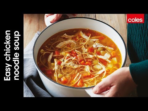 This is how to make easy chicken noodle soup