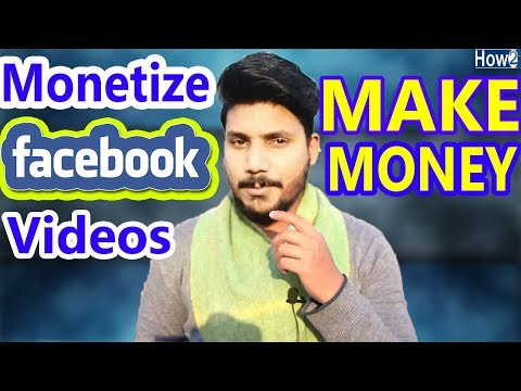 How to Monetize Videos on Facebook Fan Page | Make Money | Facebook for Creators 2018