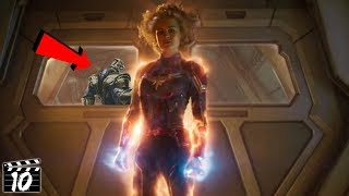 Top 10 Captain Marvel Easter Eggs You Totally Missed