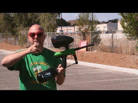 GoG eNMEy Paintball Gun - Shooting