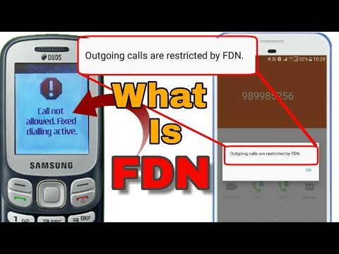 How to use fixed dialing numbers on SIM cards in Hindi || Call not Allowed Fixed dialing Active ||