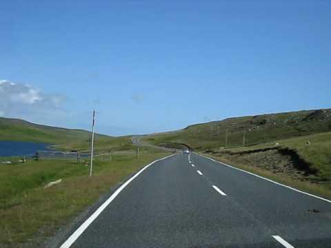 Ferry to Unst in Shetlands