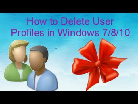 How to Delete User Profiles in Windows  7/8/10  ||  Tamil