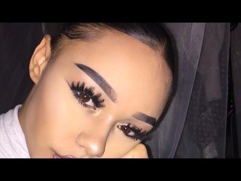 EASY EYEBROW ROUTINE/TUTORIAL (straight eyebrows)