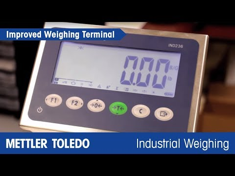 Increase Efficiency in Production with Improved Weighing Terminals - Product Video - MT IND - en